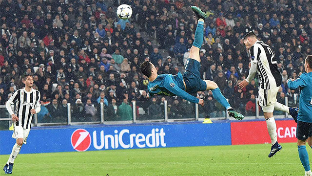 Así fue la chilena perfecta de Cristiano Ronaldo