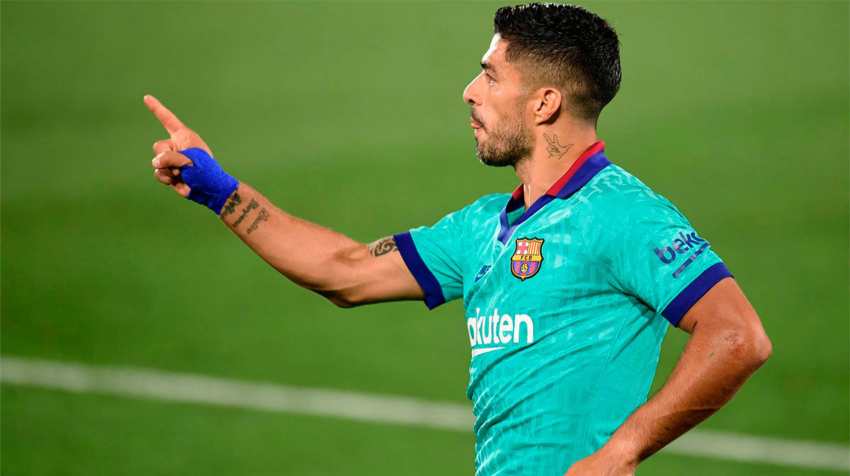 Así ha sido el partidazo de Luis Suárez ante el Villarreal