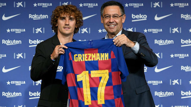 Griezmann claims Barcelona have built 'cheat team' for next season
