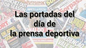 Así vienen las portadas de la prensa deportiva (ES)