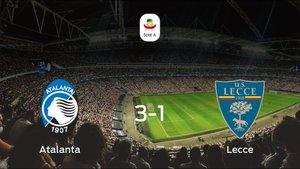 El Atalanta vence 3-1 frente al US Lecce