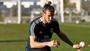 Bale se entrenó por segundo día