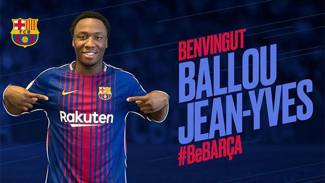 Ballou Tabla, nuevo futbolista del Barça B