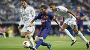 El Barça, con Leo Messi a la cabeza, se juega mucho en el Clásico