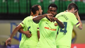 El Barça Lassa se llevó una alegría que sabe a poco
