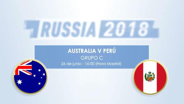 Cara a cara: Australia - Perú