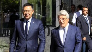 Cerezo y Bartomeu, en Madrid