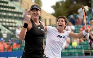 Conchita Martínez podrá contar con sus dos top 10: Garbiñe Muguruza y Carla Suárez