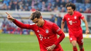 Coutinho con el Bayern de Múnich