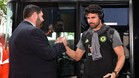 Diego Costa empieza a despedirse de la gente del Chelsea