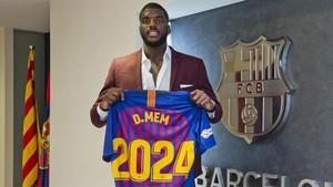 Dika Mem amplió dos temporadas más su contrato con el Barça Lassa