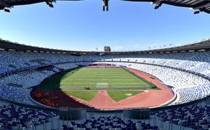 El Dinamo Arena de Tiflis ya está preparado para acoger la final de la Supercopa de Europa
