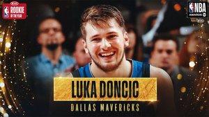 Doncic, el mejor jugador en el año de su debut