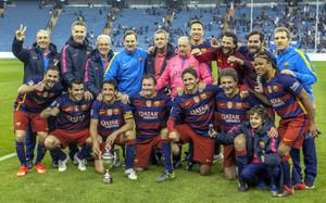 El FCB Legends ganó recientemente el clásico en Arabia Saudita
