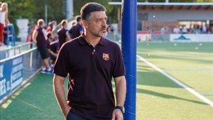 García Pimienta, un hombre de la casa siempre ligado al barcelonismo