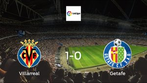 Getafe suffers defeat against Villarreal with a 1-0 at Estadio de La Ceramica