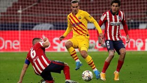 Griezmann, jugador del Barcelona