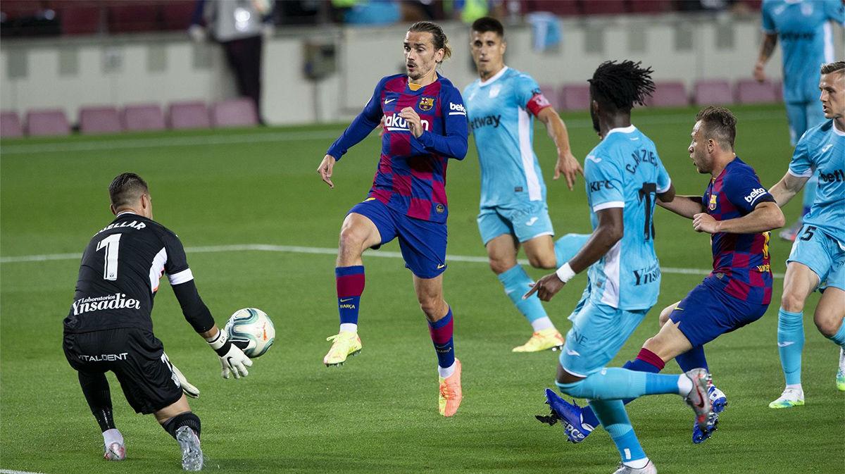 Griezmann se reencontró con el gol pero el VAR se lo anuló