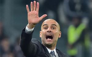 Guardiola, entrenador del Bayern Munich
