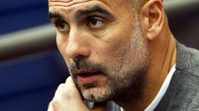 Guardiola se indigna con la pregunta de un periodista