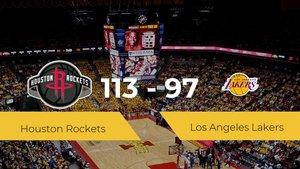 Houston Rockets logra la victoria frente a Los Angeles Lakers por 113-97