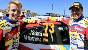 Jan Solans y su copiloto Mauro Barreiro