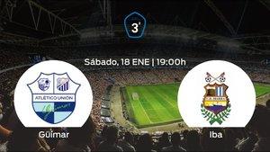 Jornada 21 de la Tercera División: previa del encuentro Güímar - Ibarra