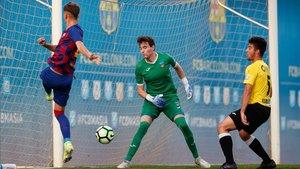 El Juvenil A jugó este viernes ante el Lleida Esportiu