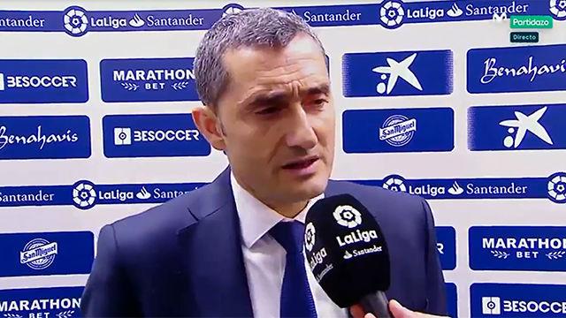 LALIGA   Valverde aún no ve al Barça campeón