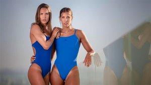 Las hermanas Espar, en el reportaje fotográfico