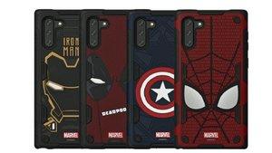 Las nuevas fundas de Samsung y Marvel