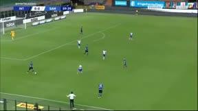 ¡Magic Lautaro! Brutal taconazo para fabricar el gol de Lukaku