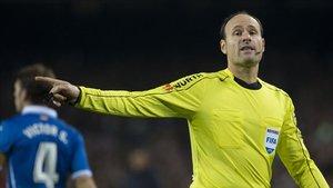 Mateu Lahoz es uno de los árbitros Élite de la UEFA