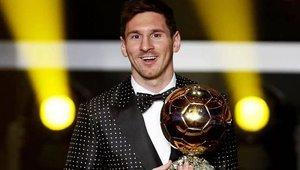 Messi logró su cuarto Balón de Oro consecutivo en 2012