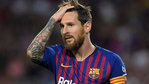 Messi tiró del carro en un partido muy complicado