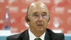 Miguel Díaz Román, presidente de la RFET, advierte de los problemas para los clubs