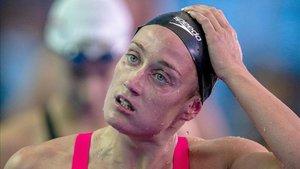 Mireia Belmonte está contenta con el aplazamiento de los Juegos