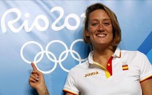Mireia Belmonte recibirá el cariño de sus conciudadanos mañana por la tarde