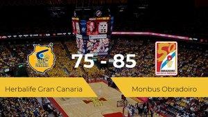 El Monbus Obradoiro vence al Herbalife Gran Canaria por 75-85