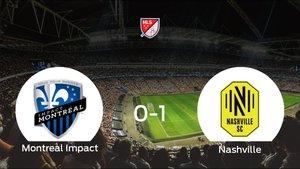 El Nashville SC vence por la mínima al Montreal Impact (0-1)