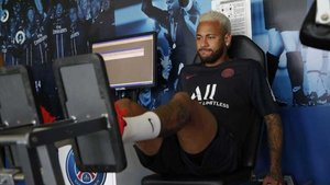 Neymar se recupera de su lesión para reintegrarse a la disciplina del PSG