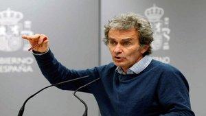Pedro Sánchez elogia a Fernando Simón y Salvador Illa por su gestión