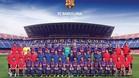 La plantilla del primer equipo del Barcelona 2017 / 2018