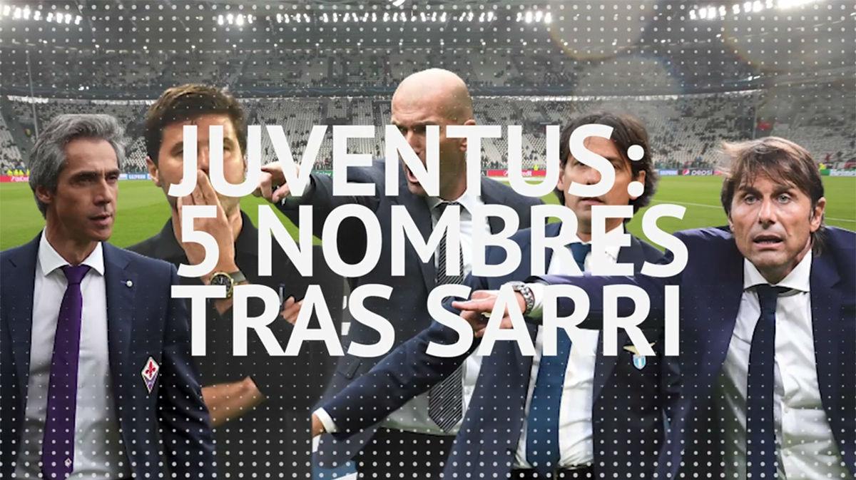 5 posibles sustitutos que maneja la Juve tras despedir a Sarri