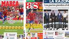 La prensa destacó la actuación de Gerard Piqué