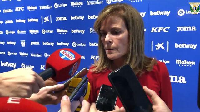 La presidenta del Leganés, indignada con el VAR: Vamos a solicitar que se repita el partido