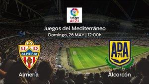 Previa del partido: el Almería recibe en el Juegos del Mediterráneo al Alcorcón