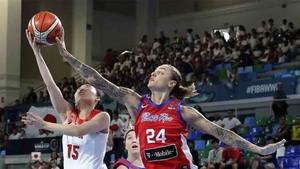 Puerto Rico perdió ante Japón en el Mundial de baloncesto femenino
