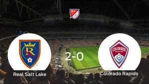 El Real Salt Lake consigue la victoria ante el Colorado Rapids (2-0)
