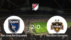 El San Jose Earthquakes gana 2-0 en casa al Houston Dynamo